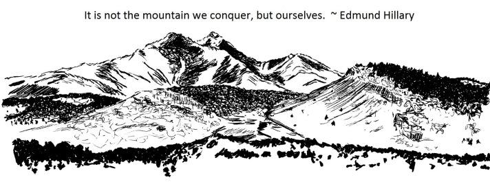 Longs Peak - for Cowbird