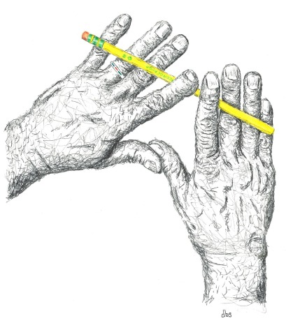 Pencil in Hand 5 - 50 pct