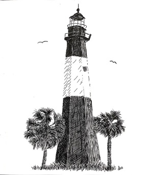 8-Tybee Lighthouse-reduced